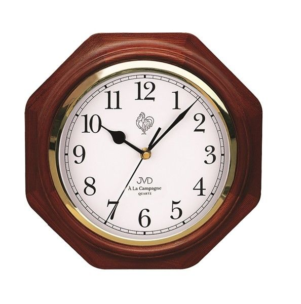 Dřevěné nástěnné hodiny JVD N71.3 - ODESÍLÁME ZDARMA!