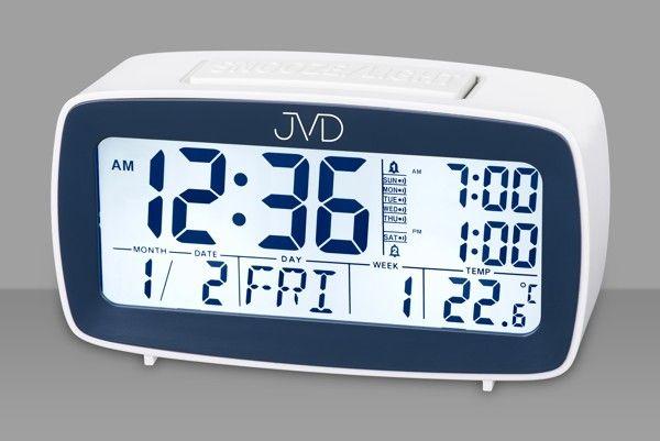 Digitální budík JVD SB82.2 (vícefunkční digitální budík)
