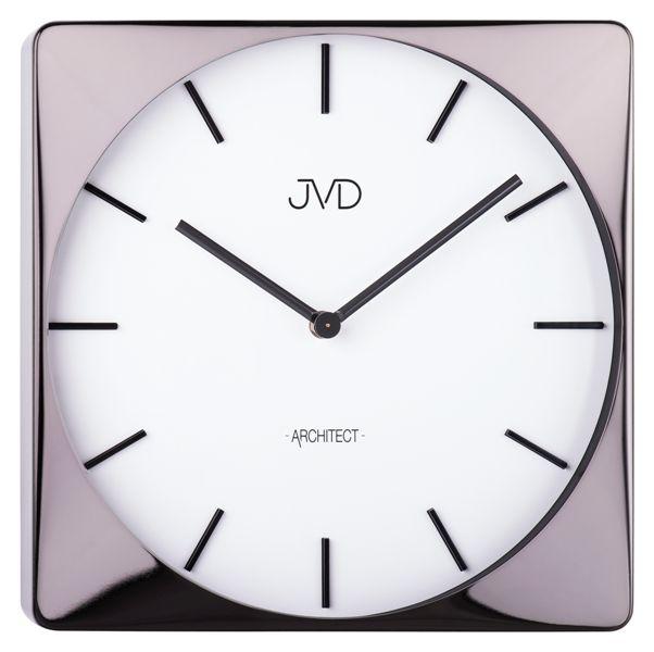 Designové kovové hodiny JVD -Architect- HC10.2