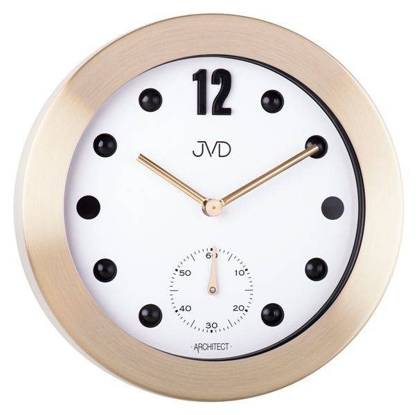 Designové kovové hodiny JVD -Architect- HC07.2