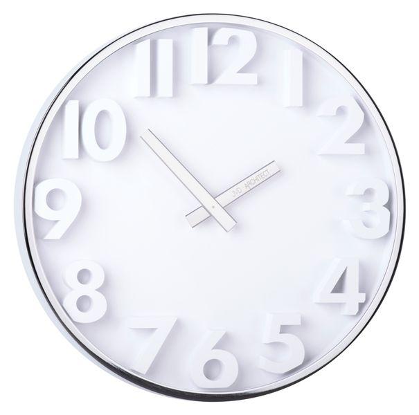 Designové kovové hodiny JVD -Architect- HC03.1 (hodiny pro architekty)