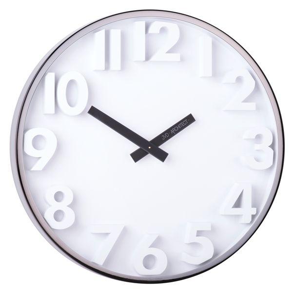 Designové kovové hodiny JVD -Architect- HC03.2 (hodiny pro architekty)