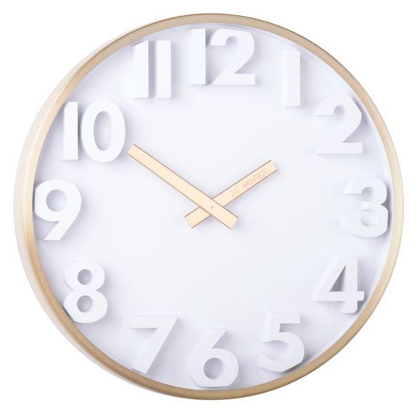Designové kovové hodiny JVD -Architect- HC03.3 (hodiny pro architekty)