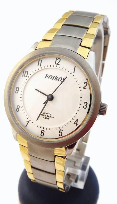 Dámské antialergické titanové hodinky Foibos 2452 BICOLOR (POŠTOVNÉ ZDARMA!!!)