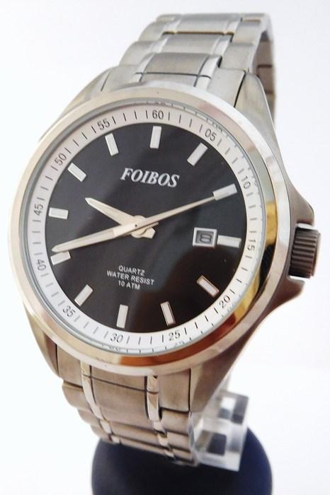 Pánské celotitanové antialergické vodotěsné hodinky Foibos 25501 (odlehčené hodinky)