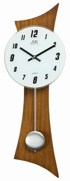 Nástěnné kyvadlové hodiny N27004/11 (tmavé dřevo)