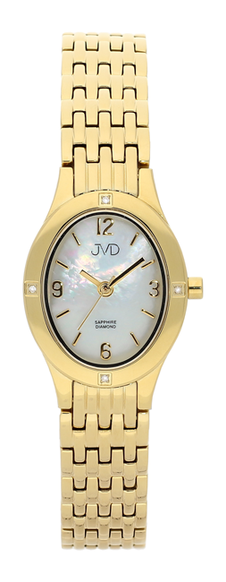 Dámské náramkové hodinky JVD s pravými diamanty J4019.6