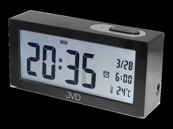 Digitální budík JVD SB138.1 (se senzorem podsvícení)
