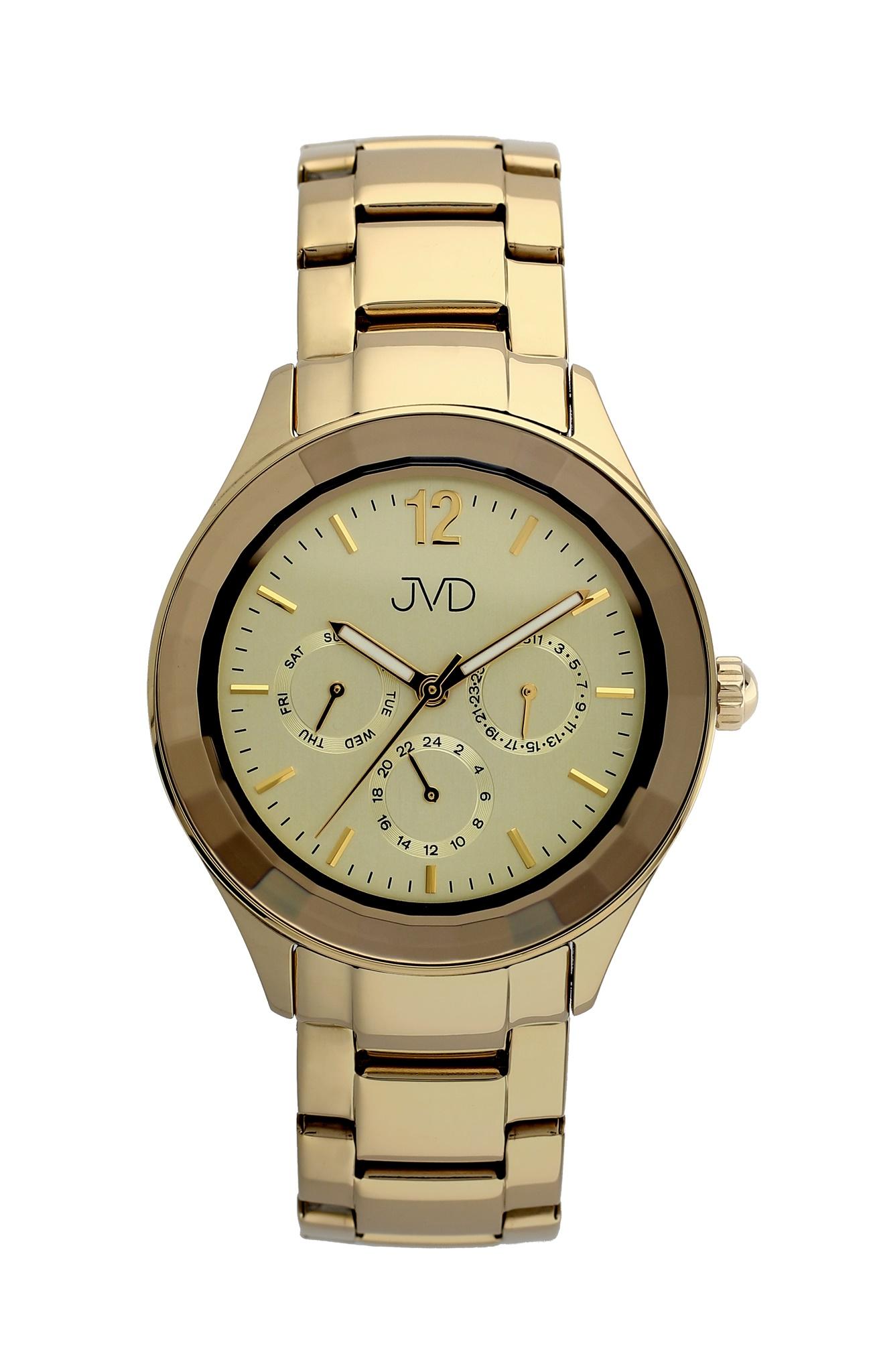 Luxusní chronograf - náramkové hodinky JVD JC064.3 (POŠTOVNÉ ZDARMA!!)