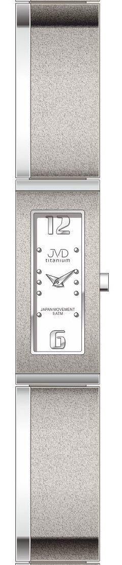 Dámské luxusní titanové antialergické hodinky J5020.1