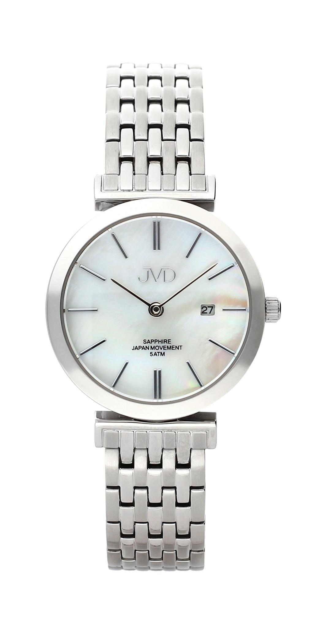 Dámské čitelné náramkové hodinky se safírovým sklem JVD J4150.1 (POŠTOVNÉ ZDARMA!!)