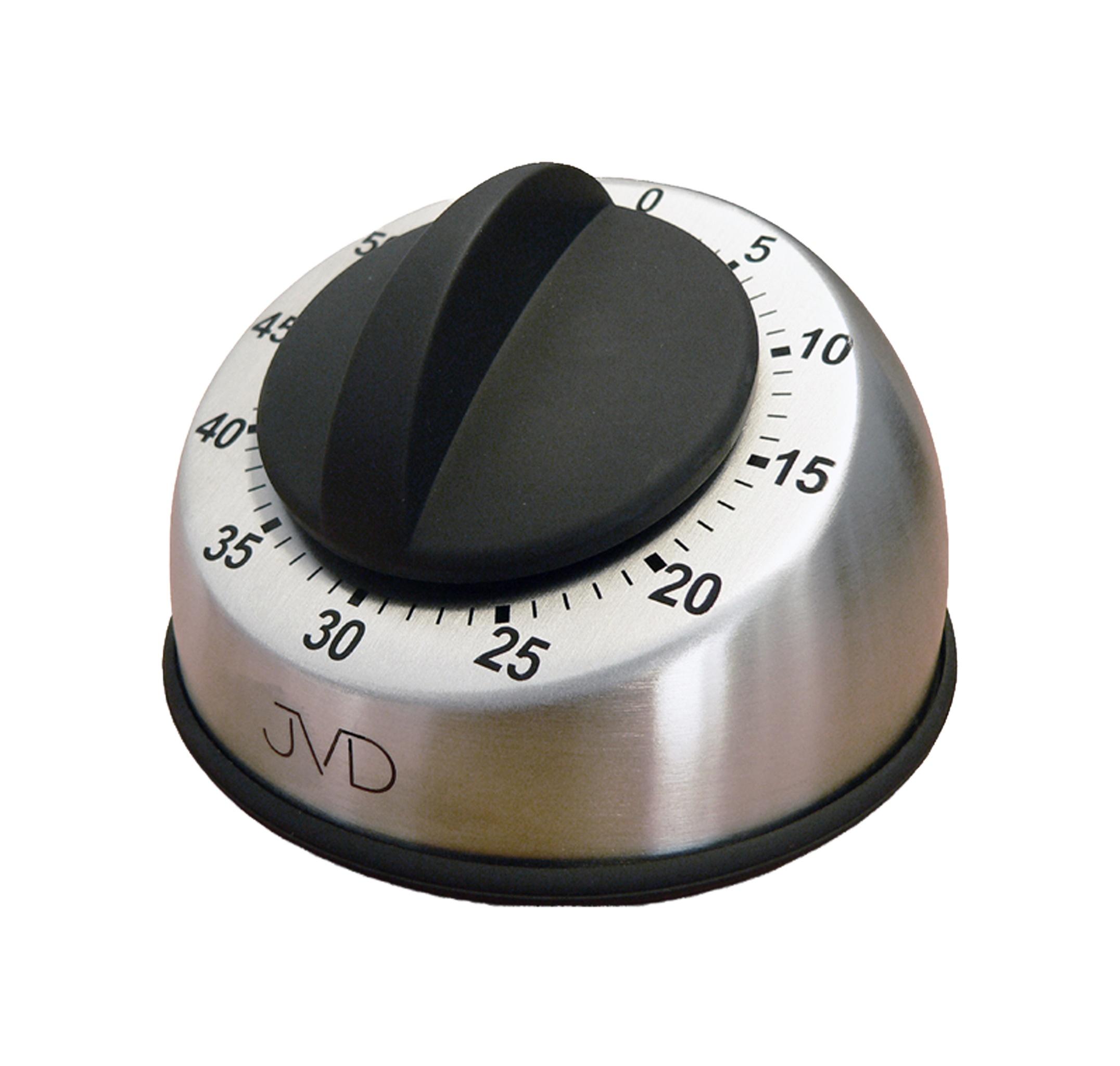 Mechanická nerezová kovová minutka JVD DM83