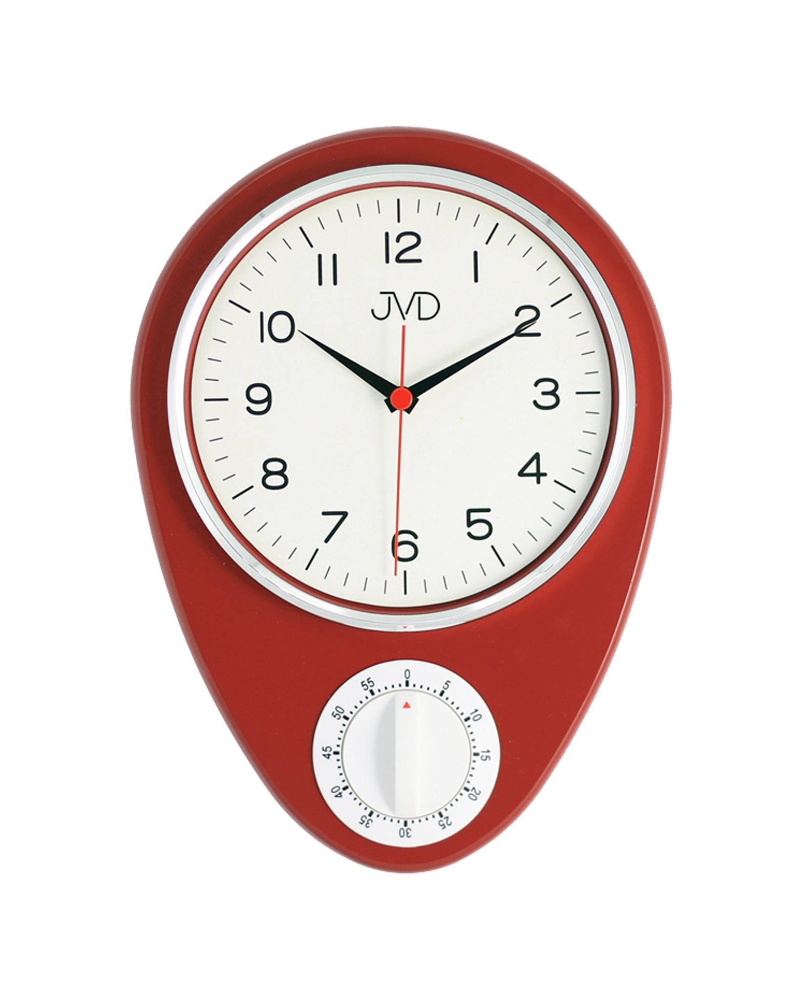 """Klasické """"retro"""" hodiny s mechanickou minutkou JVD HO365.1"""
