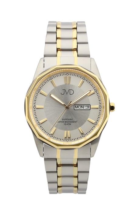Luxusní pánské vodotěsné hodinky JVD J1109.2 se safírovým sklem (POŠTOVNÉ ZDARMA!!!)