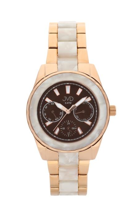 Dámské luxusní náramkové hodinky JVD J1099.1 - chronograf (POŠTOVNÉ ZDARMA!!)