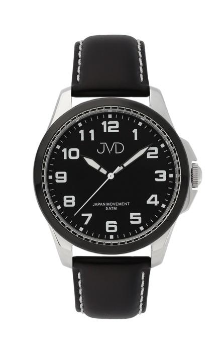 Pánské luxusní náramkové hodinky JVD J1110.3 na koženém pásku (POŠTOVNÉ ZDARMA!!)