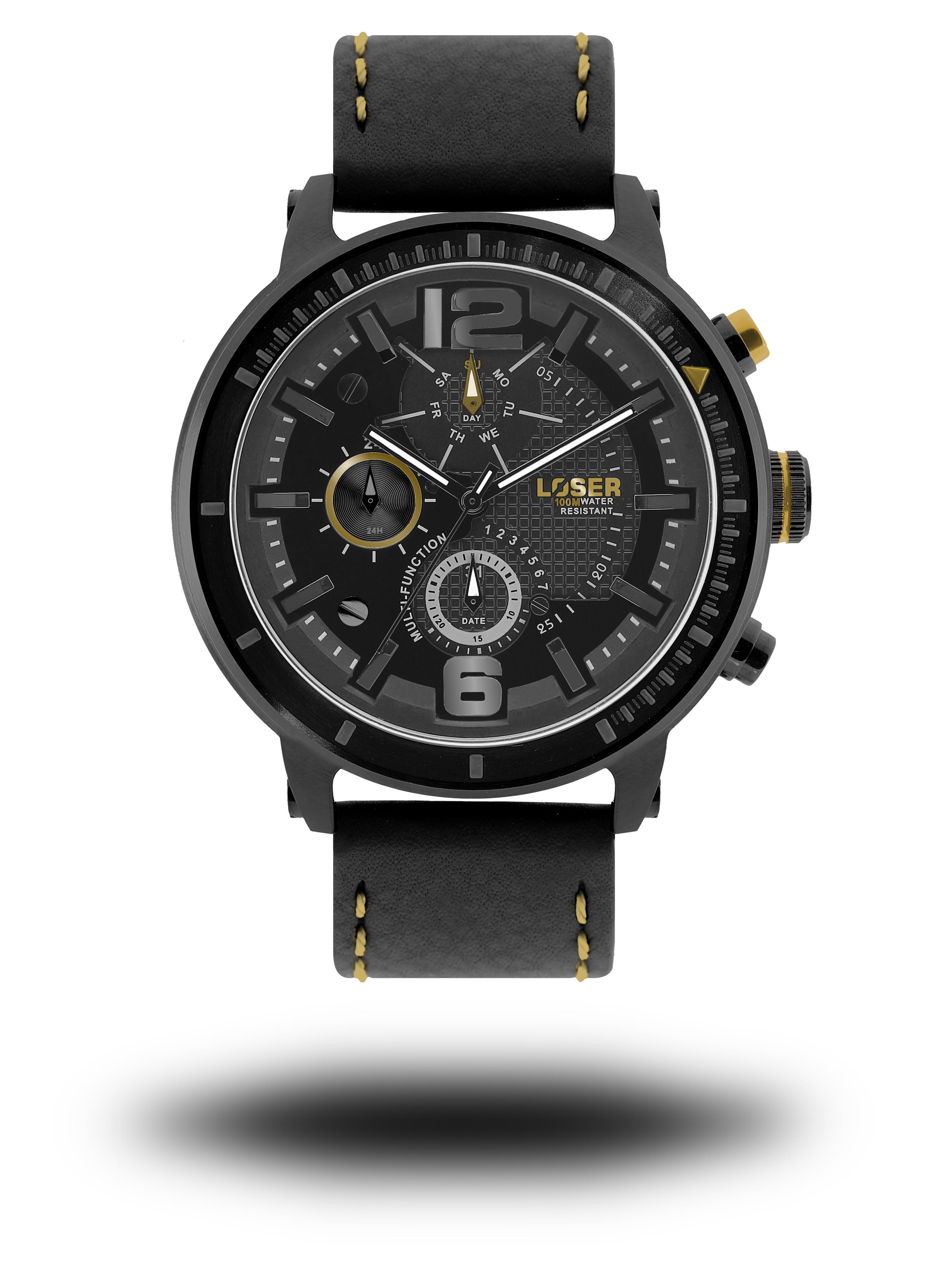 Luxusní nadčasové sportovní vodotěsné mohutné hodinky LOSER S-Mode ECLIPSE (POŠTOVNÉ ZDARMA!! - modré)