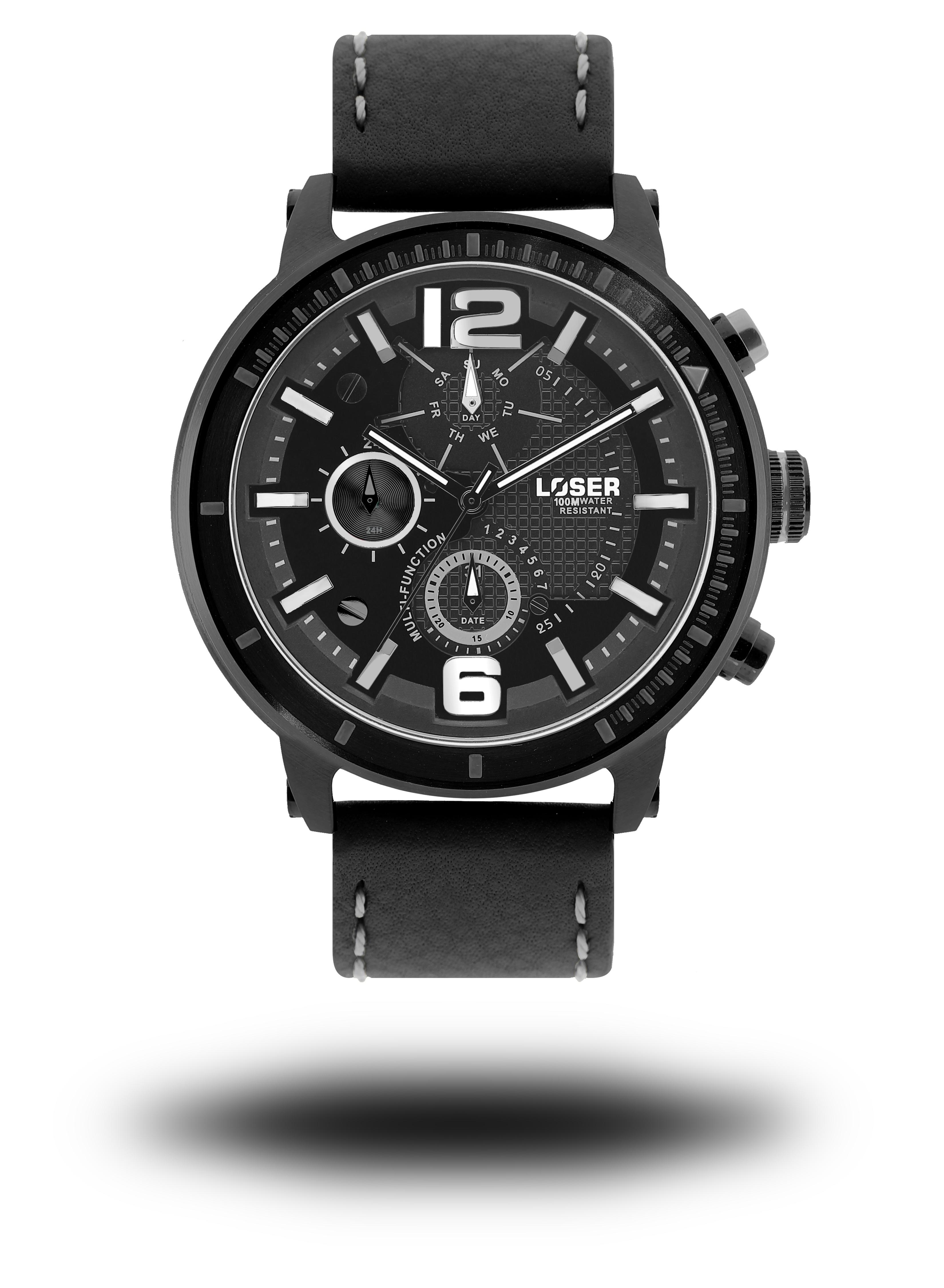 Luxusní nadčasové sportovní vodotěsné mohutné hodinky LOSER S-Mode FREEZE (POŠTOVNÉ ZDARMA!! - modré)