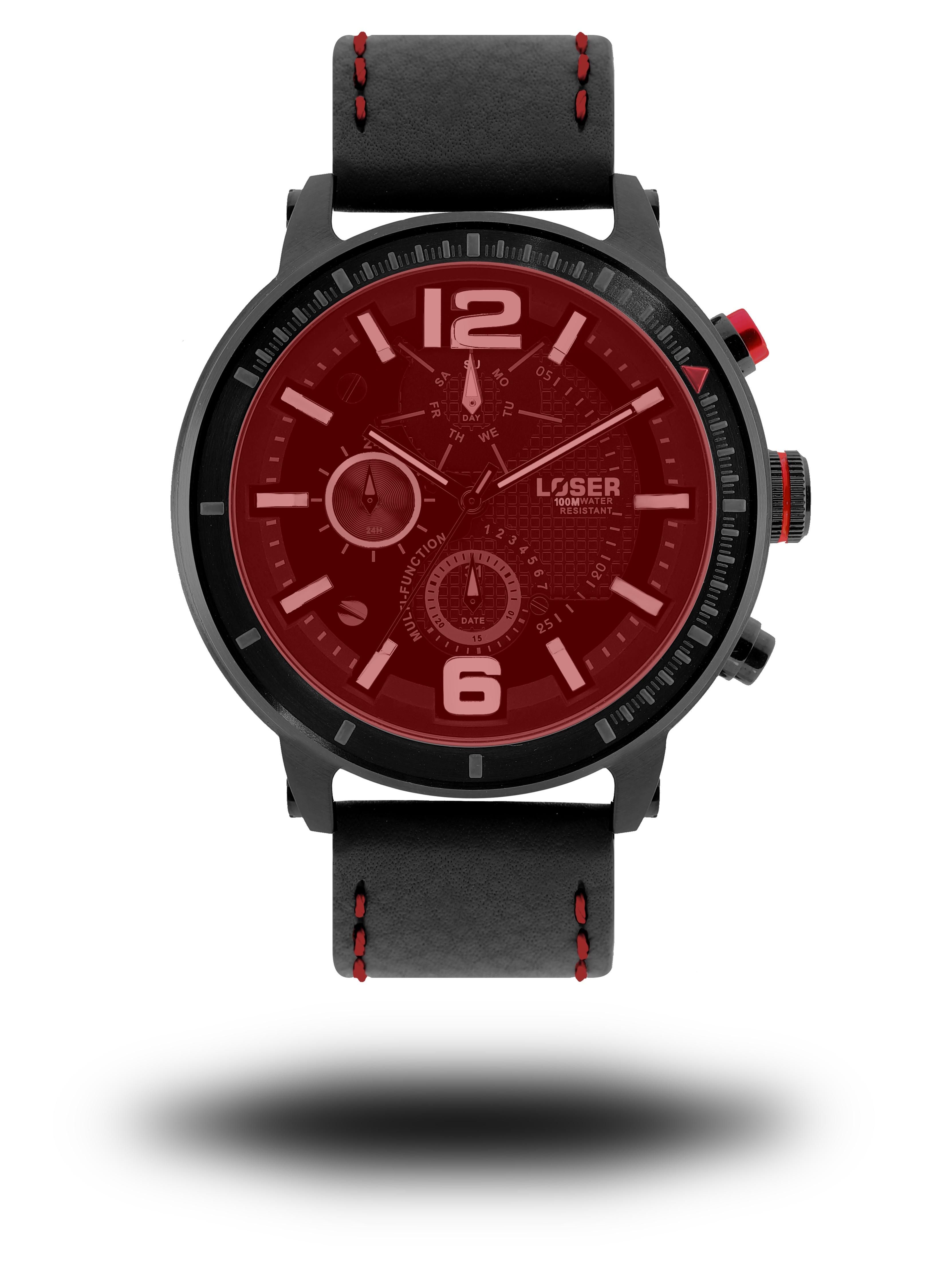 Luxusní nadčasové sportovní vodotěsné mohutné hodinky LOSER S-Mode FIRE (POŠTOVNÉ ZDARMA!! - modré)