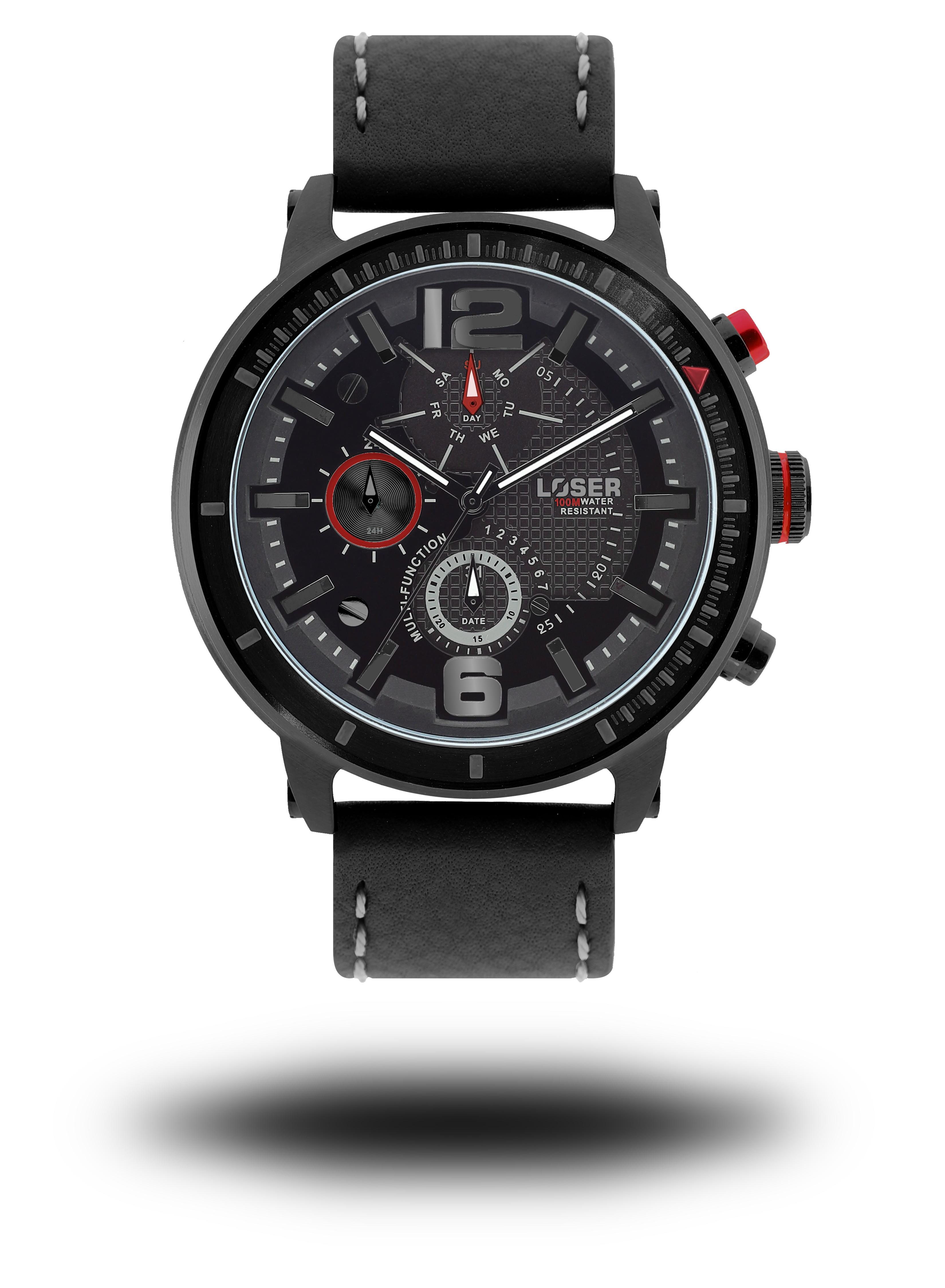 Luxusní nadčasové sportovní vodotěsné mohutné hodinky LOSER S-Mode HEAT (POŠTOVNÉ ZDARMA!! )