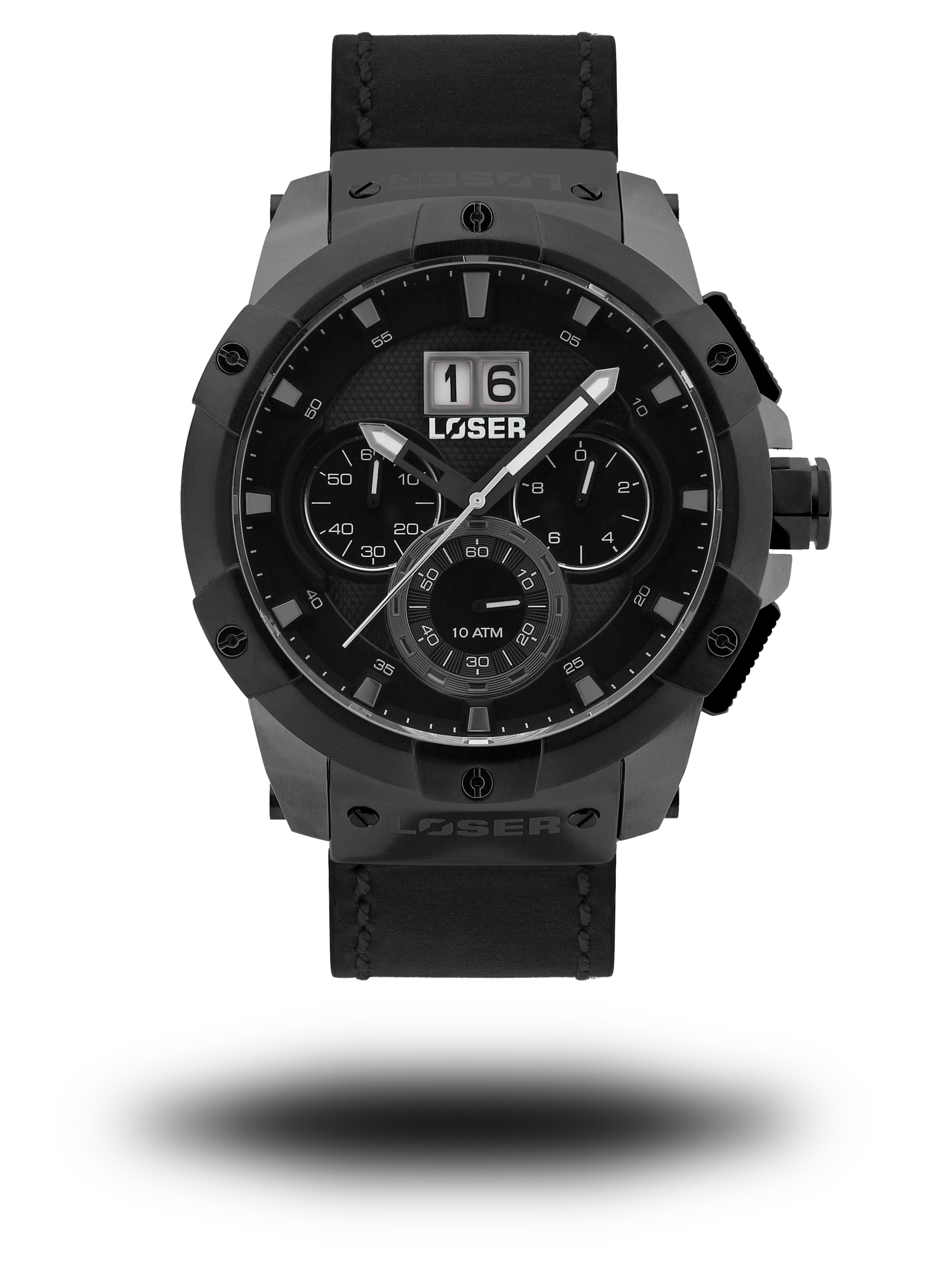 Luxusní nadčasové sportovní vodotěsné mohutné hodinky LOSER Vision DUST GREY (POŠTOVNÉ ZDARMA!! - šedé)