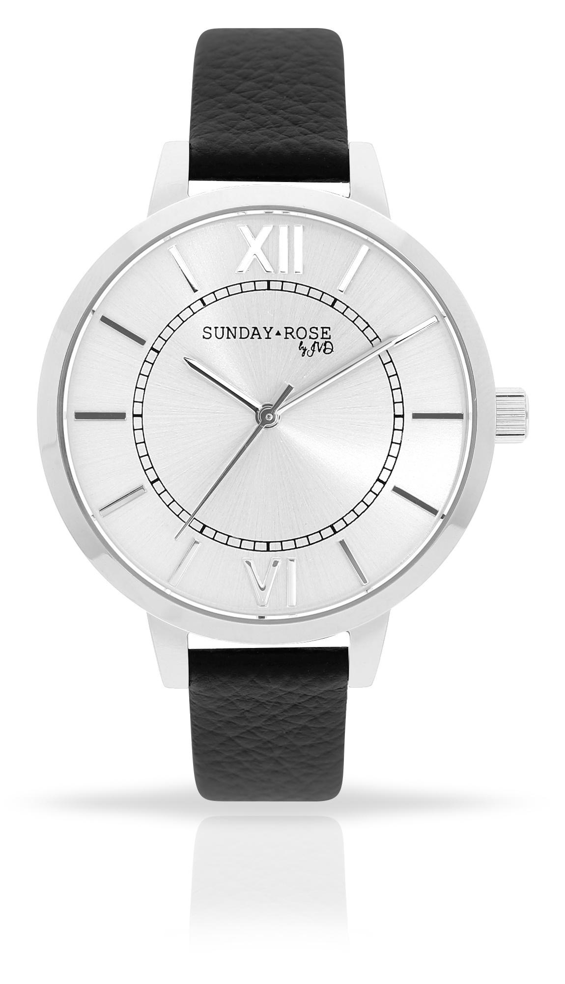 Dámské luxusní designové hodinky SUNDAY ROSE Classic FOREVER BLACK (POŠTOVNÉ ZDARMA!!)