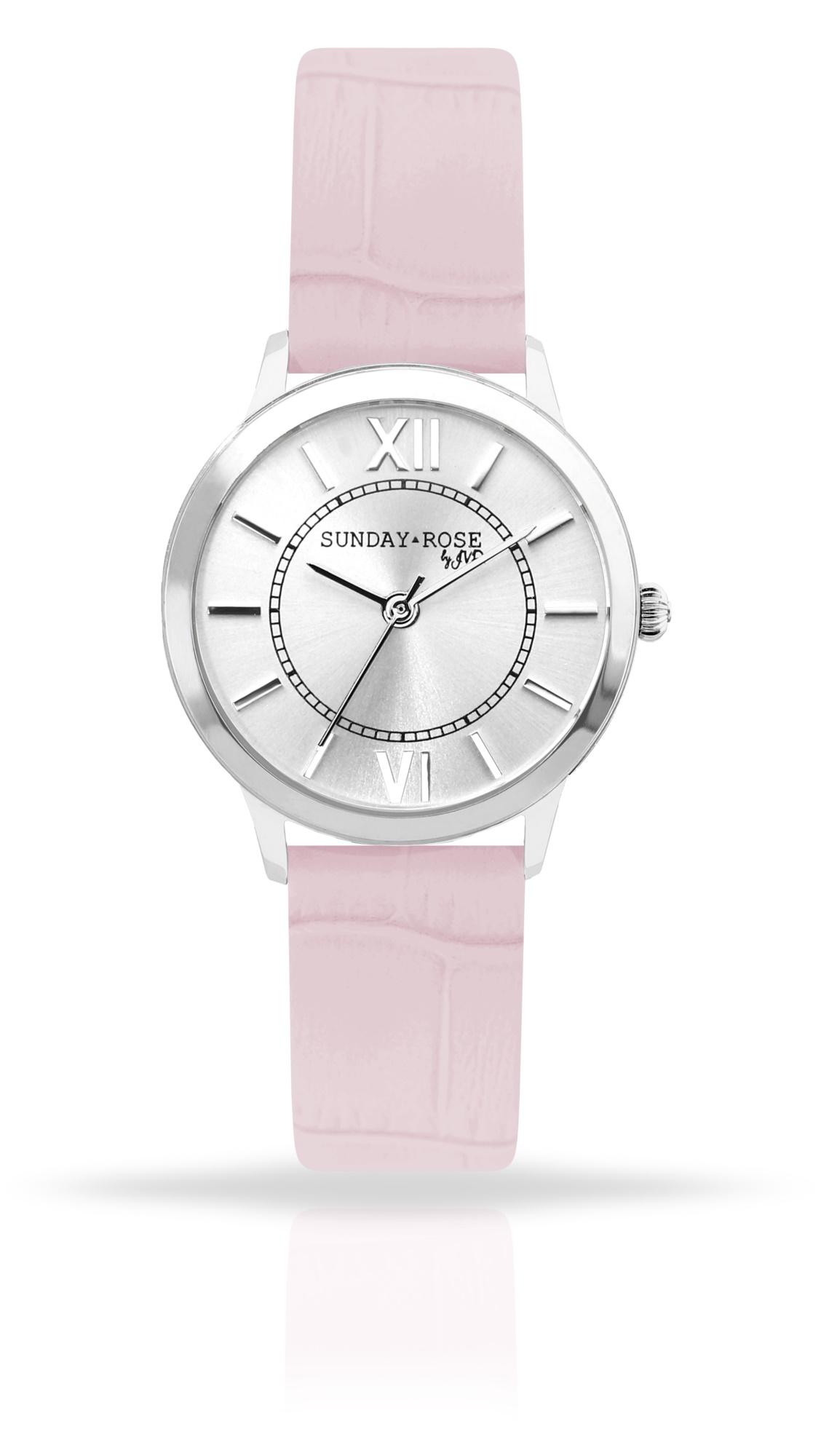 Dámské luxusní designové hodinky SUNDAY ROSE Darling SWEET PINK (POŠTOVNÉ  ZDARMA!! - růžové e75c656bf50