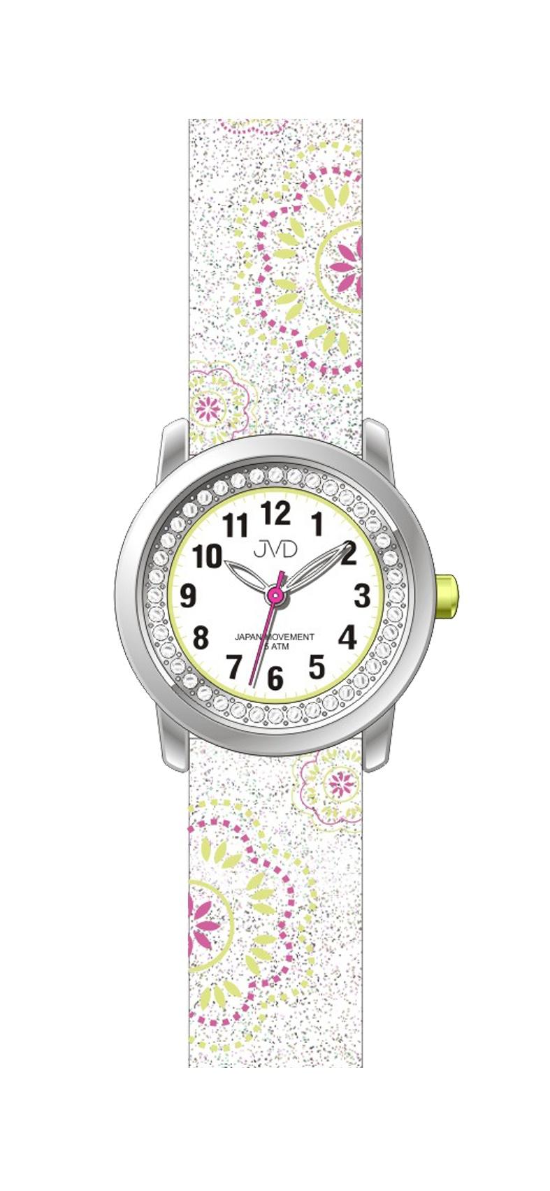 Dětské dívčí náramkové hodinky JVD J7171.1
