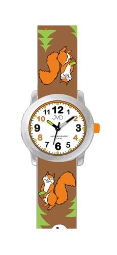 Dětské náramkové hodinky JVD J7174.2 (motivy lesních zvířátek)
