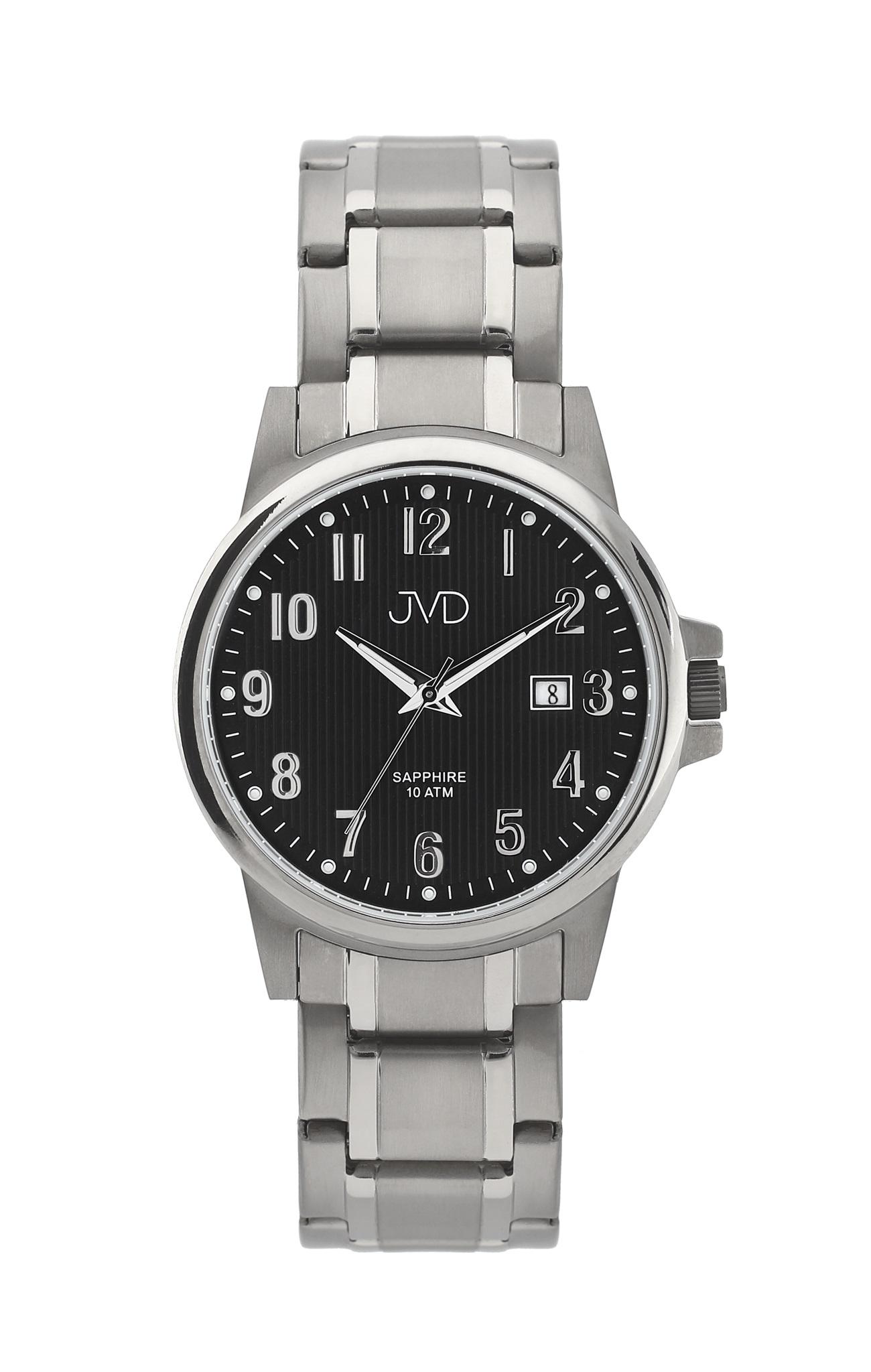 Pánské titanové antialergické vodotěsné hodinky JVD J2021.2 se safírovým  sklem 46a69b14097