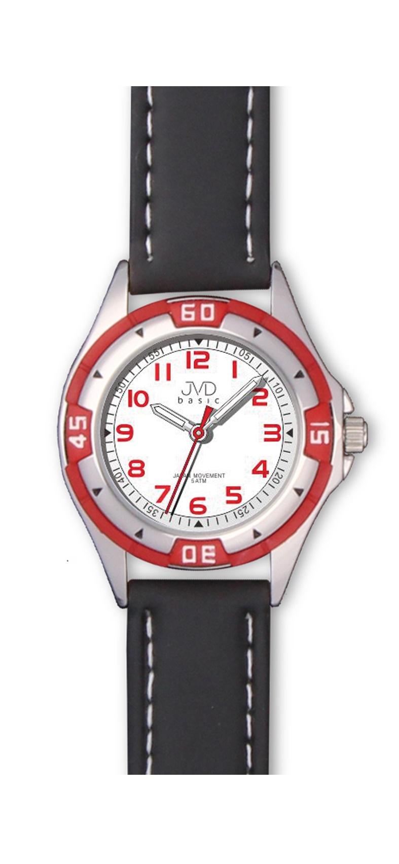 Chlapecké dětské voděodolné sportovní hodinky JVD J7099.1 - 5ATM