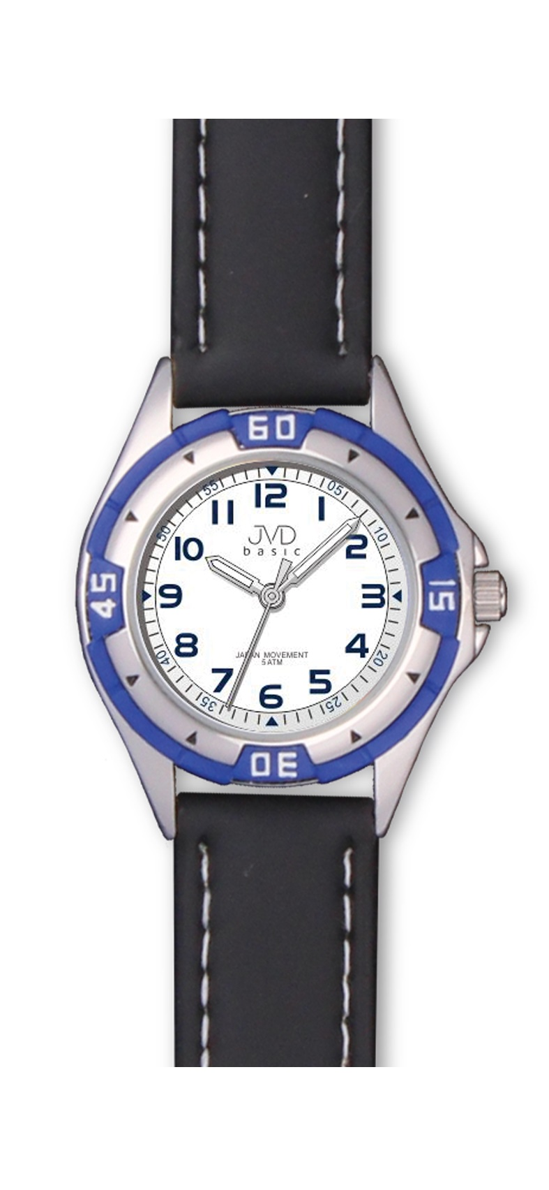Chlapecké dětské voděodolné sportovní hodinky JVD J7099.3 - 5ATM