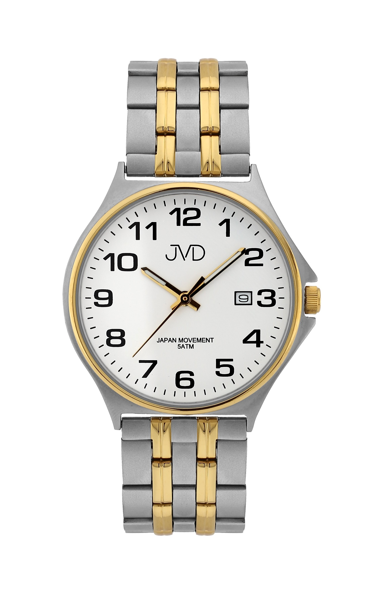 Pánské ocelové čitelné náramkové hodinky JVD J1114.1 (POŠTOVNÉ ZDARMA!!)