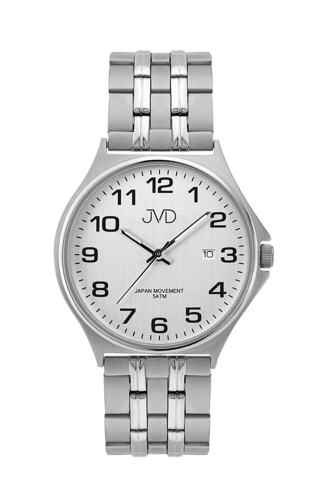 Pánské ocelové čitelné náramkové hodinky JVD J1114.2 ( )