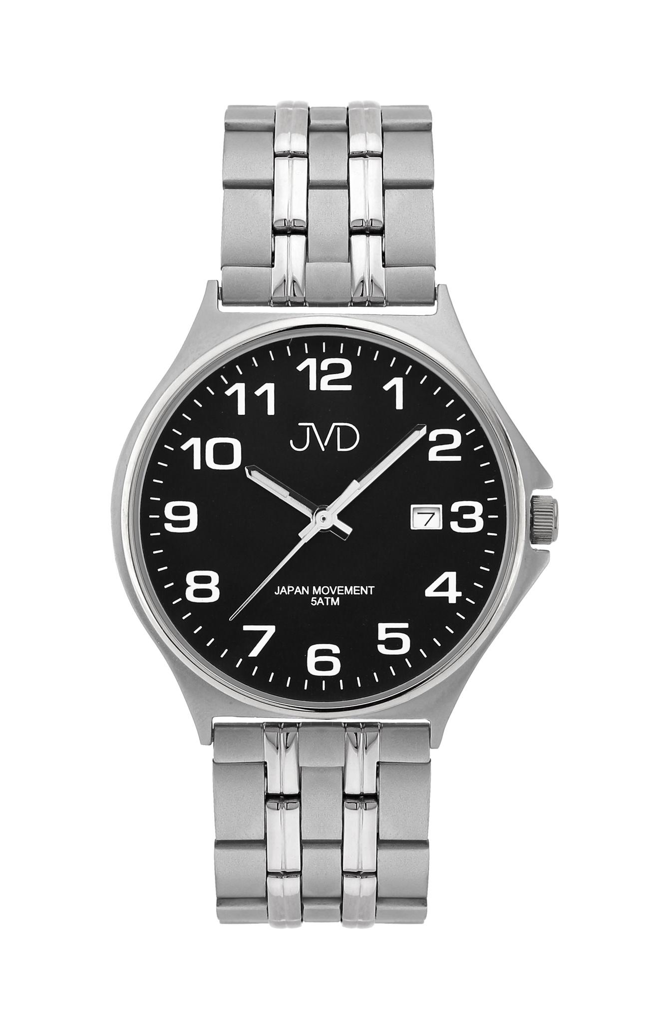 Pánské ocelové čitelné náramkové hodinky JVD J1114.3 ( )