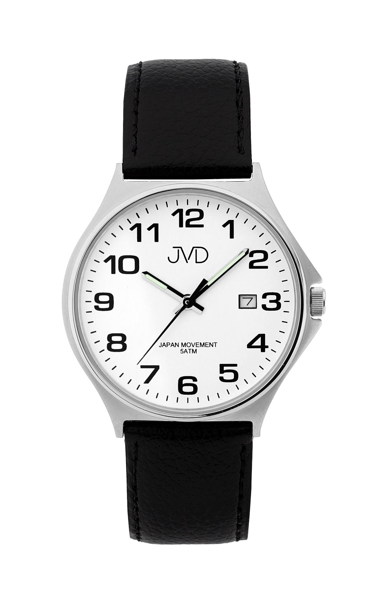 Pánské ocelové čitelné náramkové hodinky JVD J1114.4 ( )