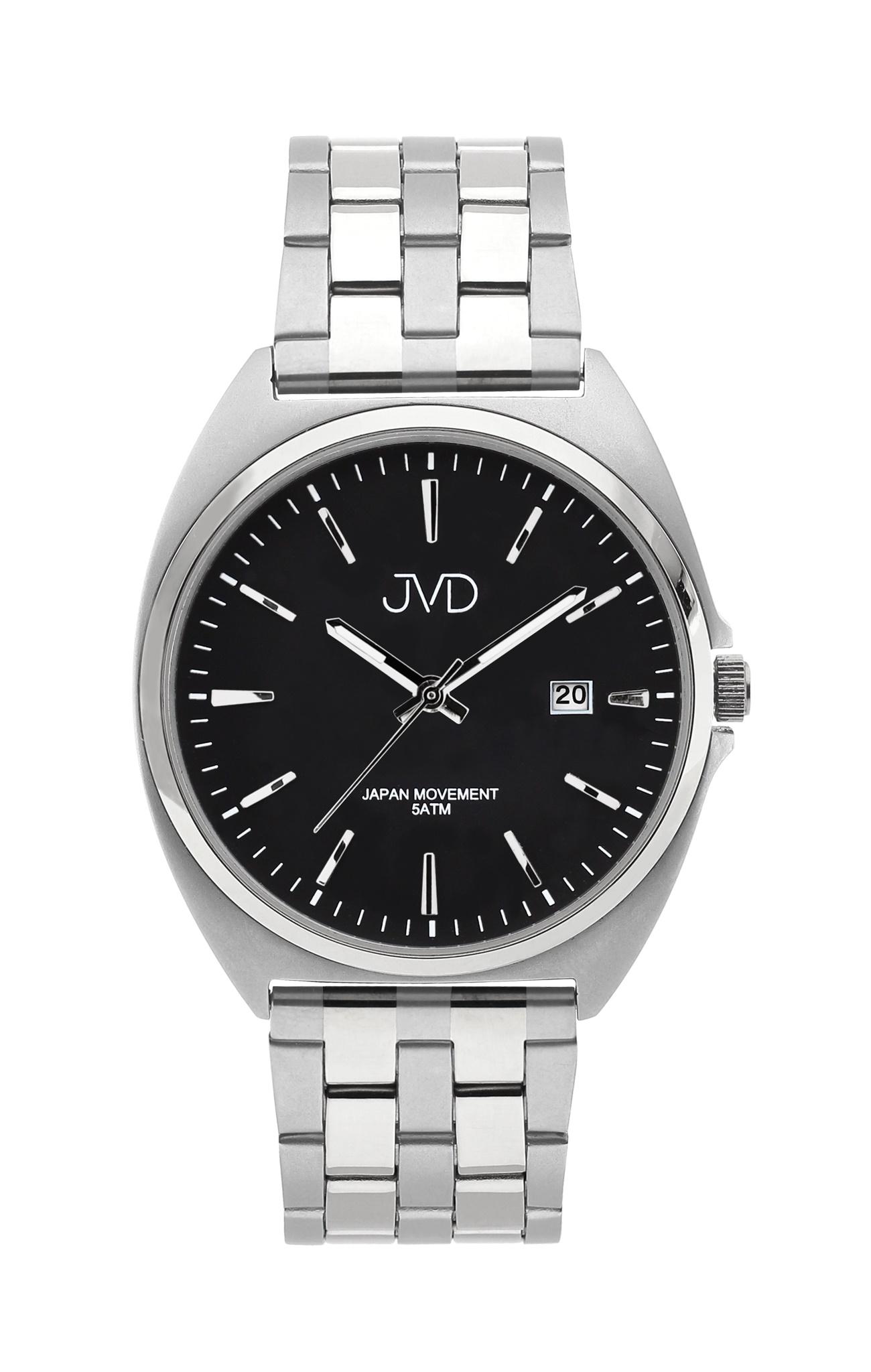 Pánské ocelové čitelné náramkové hodinky JVD J1115.1 - 5ATM (POŠTOVNÉ ZDARMA!!)