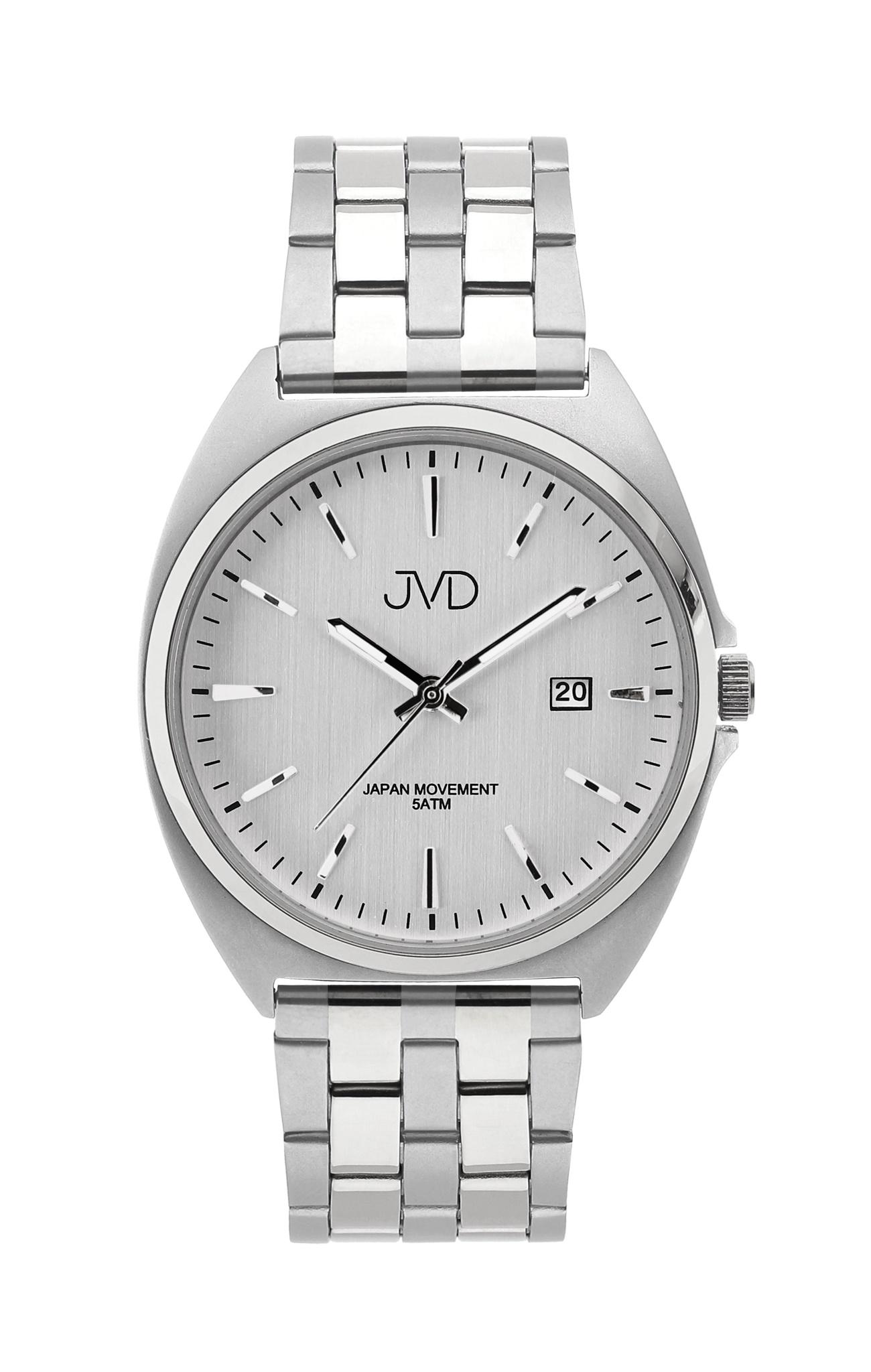 Pánské ocelové čitelné náramkové hodinky JVD J1115.2 - 5ATM (POŠTOVNÉ ZDARMA!!)