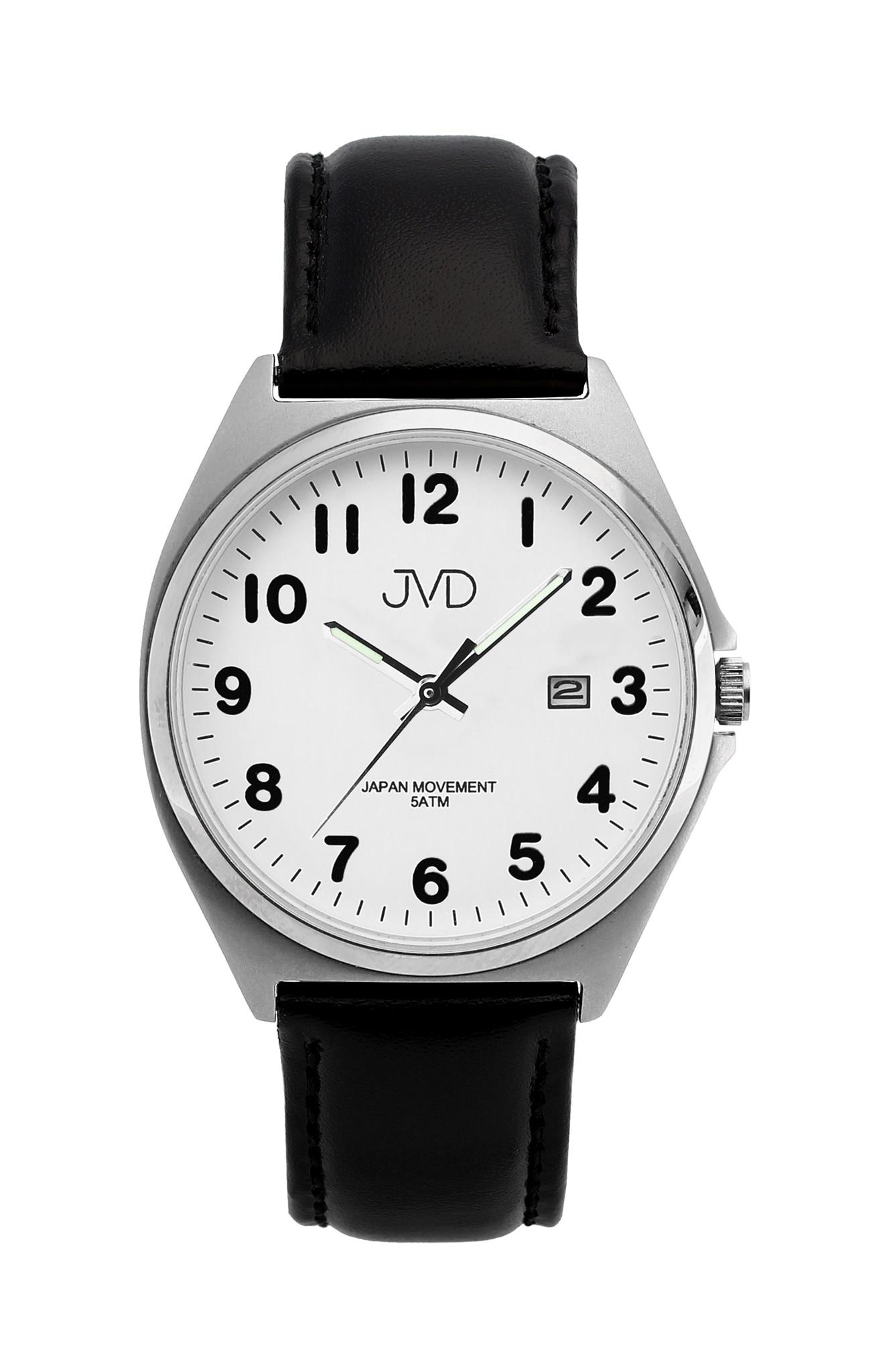 531ff918884 Pánské ocelové čitelné náramkové hodinky JVD J1115.4 - 5ATM ( )