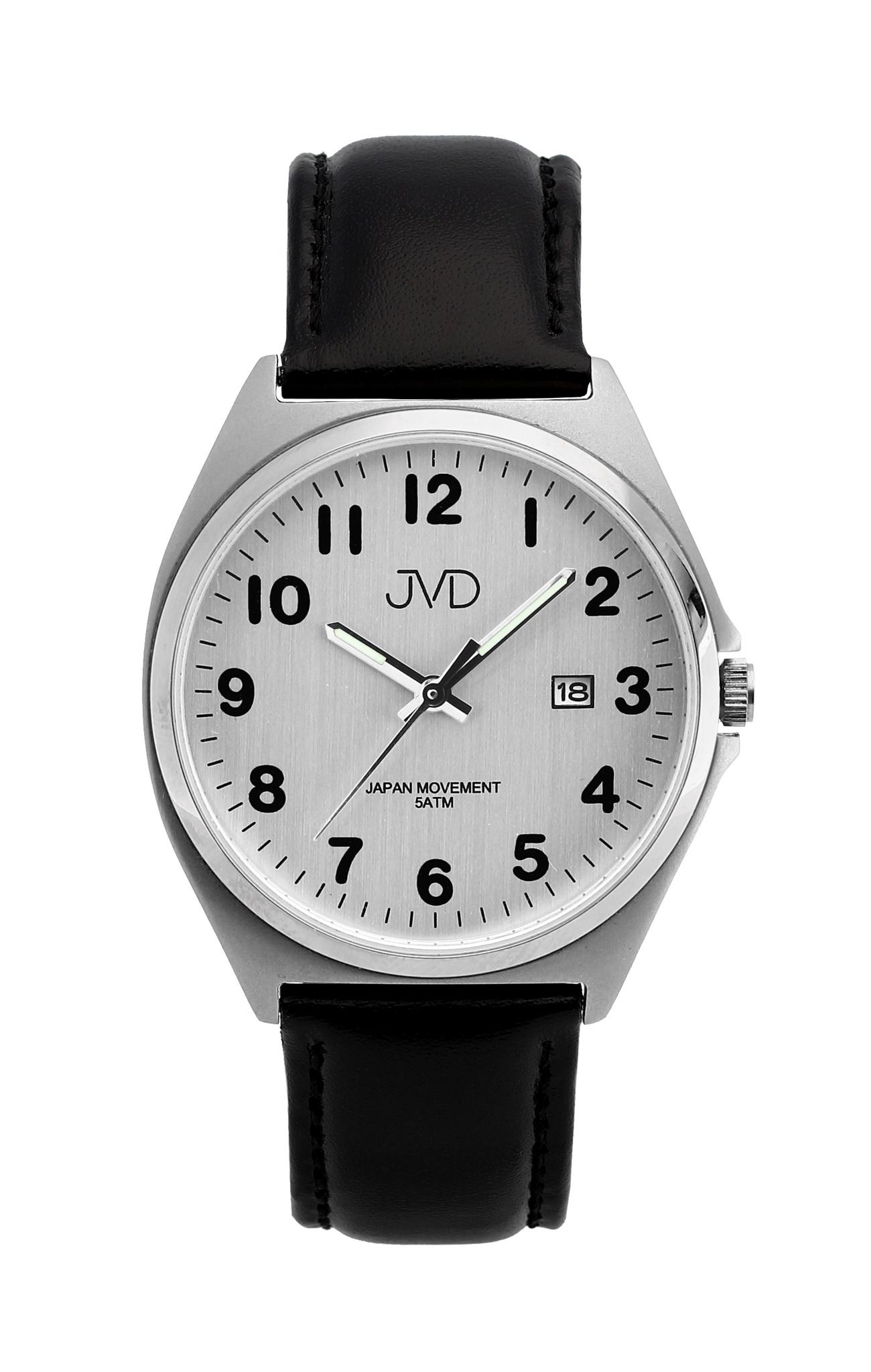 Pánské ocelové čitelné náramkové hodinky JVD J1115.5 - 5ATM ( )
