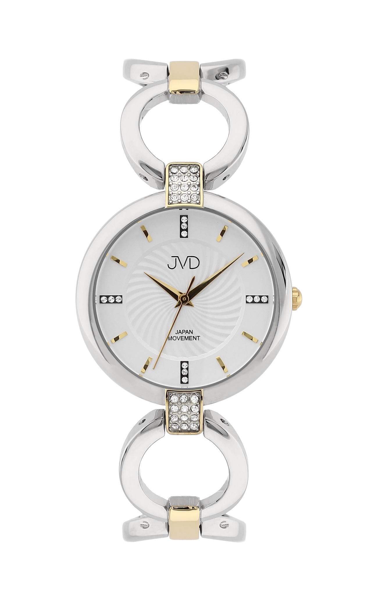 Luxusní dámské nerezové náramkové hodinky JVD JC093.2 (POŠTOVNÉ ZDARMA!!)