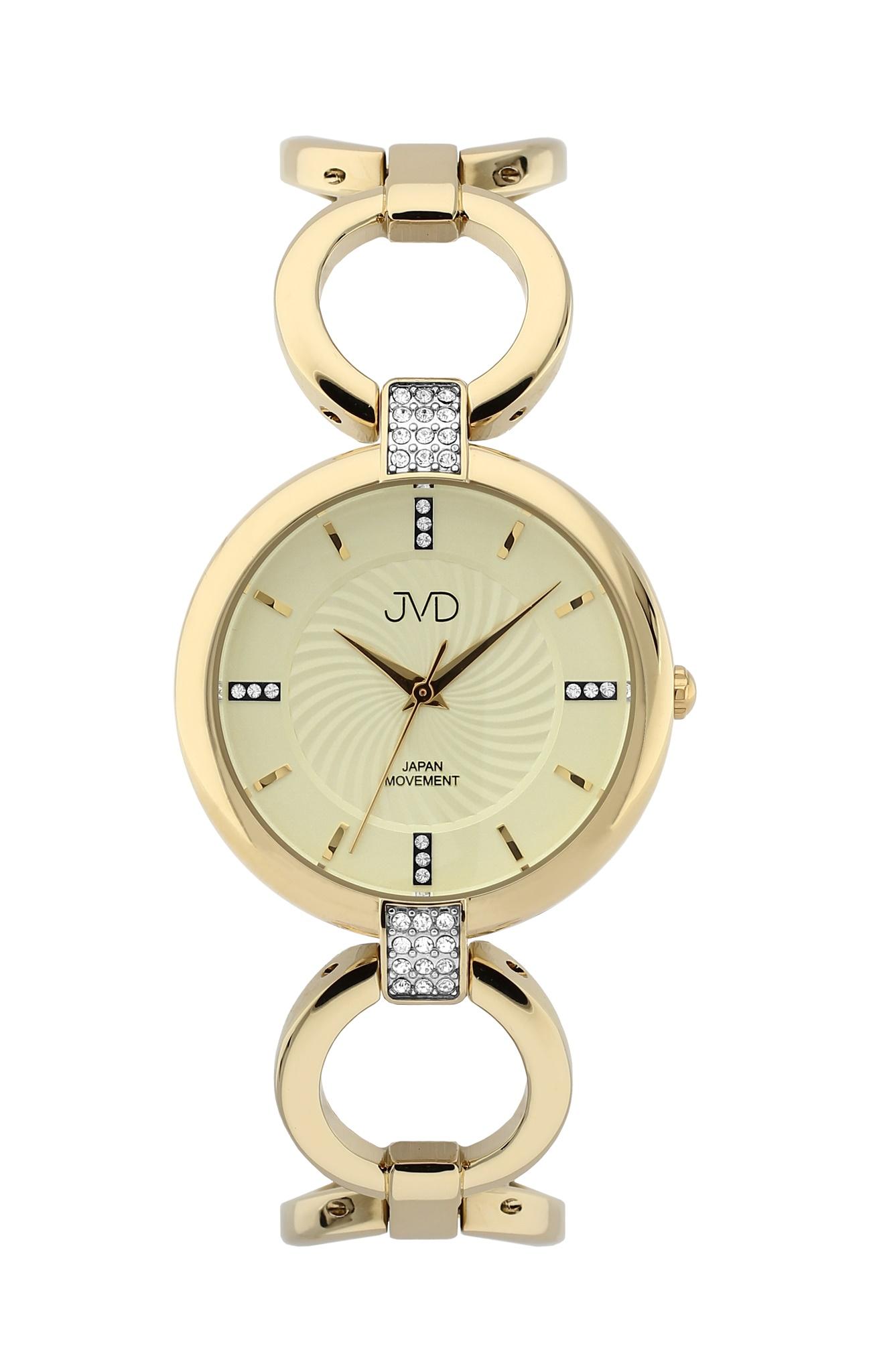 Luxusní dámské nerezové náramkové hodinky JVD JC093.3 (POŠTOVNÉ ZDARMA!!)