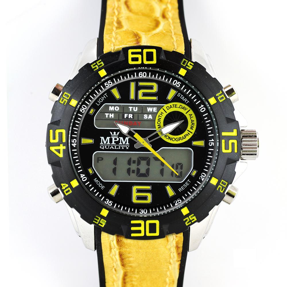 Pánské hodinky sportovní hodinky s kombinovaným číselníkem MPM W01M.10608.E d3637c38b5a