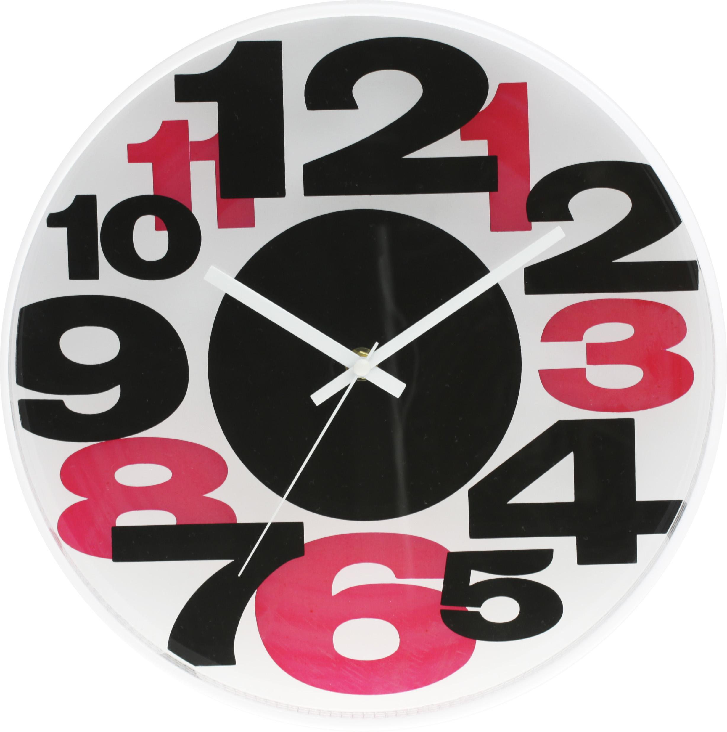 Pestré barvené dětské hodiny MPM E01.3233.9020 - černá/červená