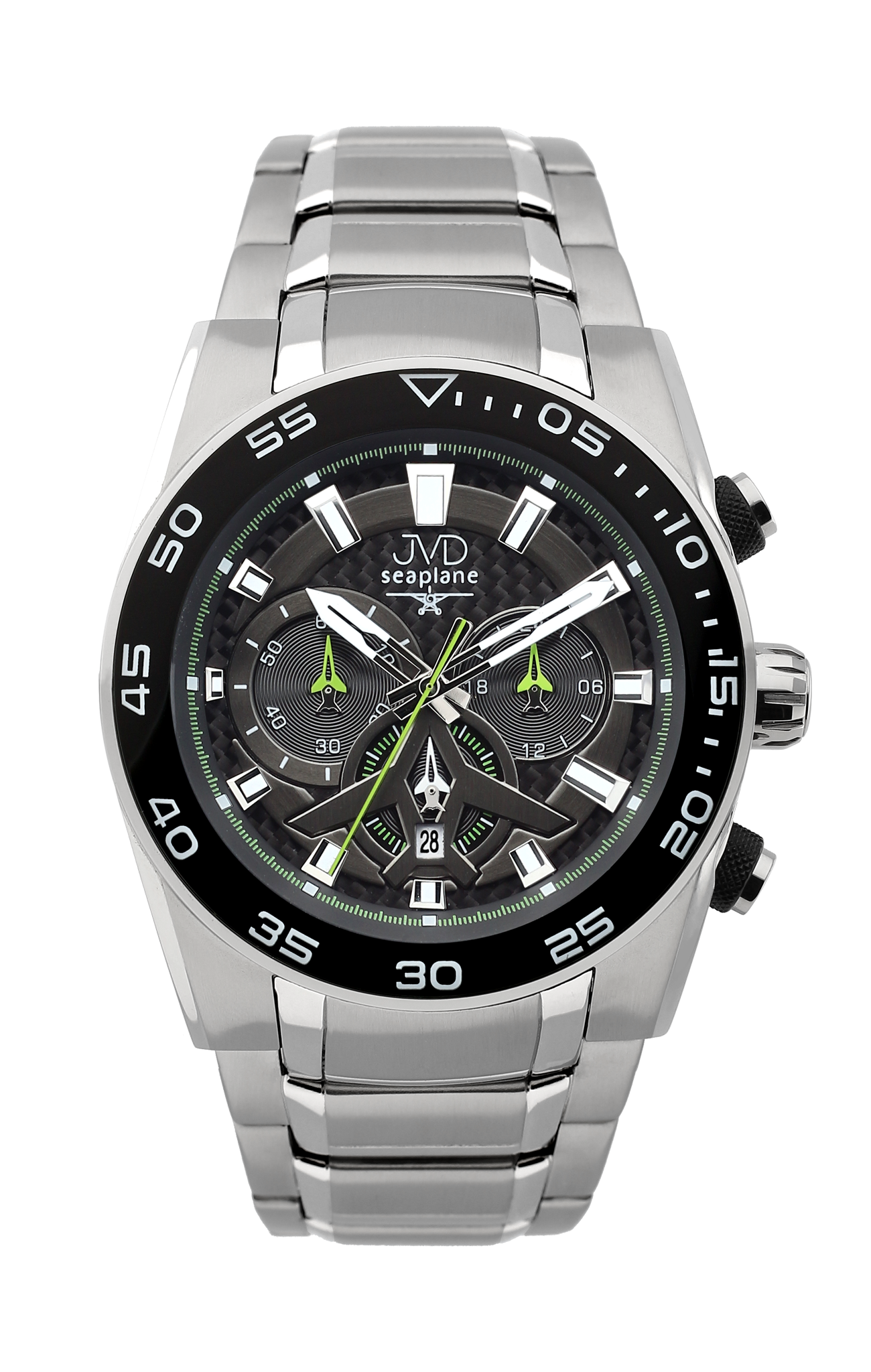 Luxusní vodotěsné sportovní hodinky JVD seaplane W49.4 chornograf se stopkami (POŠTOVNÉ ZDARMA!!)