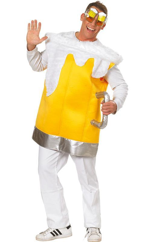 Maškarní kostým točené pivo (pivní půllitr s uchem) (Cena za půjčovné na 1-3 dny nebo víkend:)