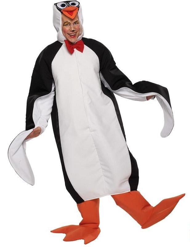 Maškarní kostým - Tučňák - karnevalový kostým - zvířecí motiv (Cena za půjčovné na 1-3 dny nebo víkend:)
