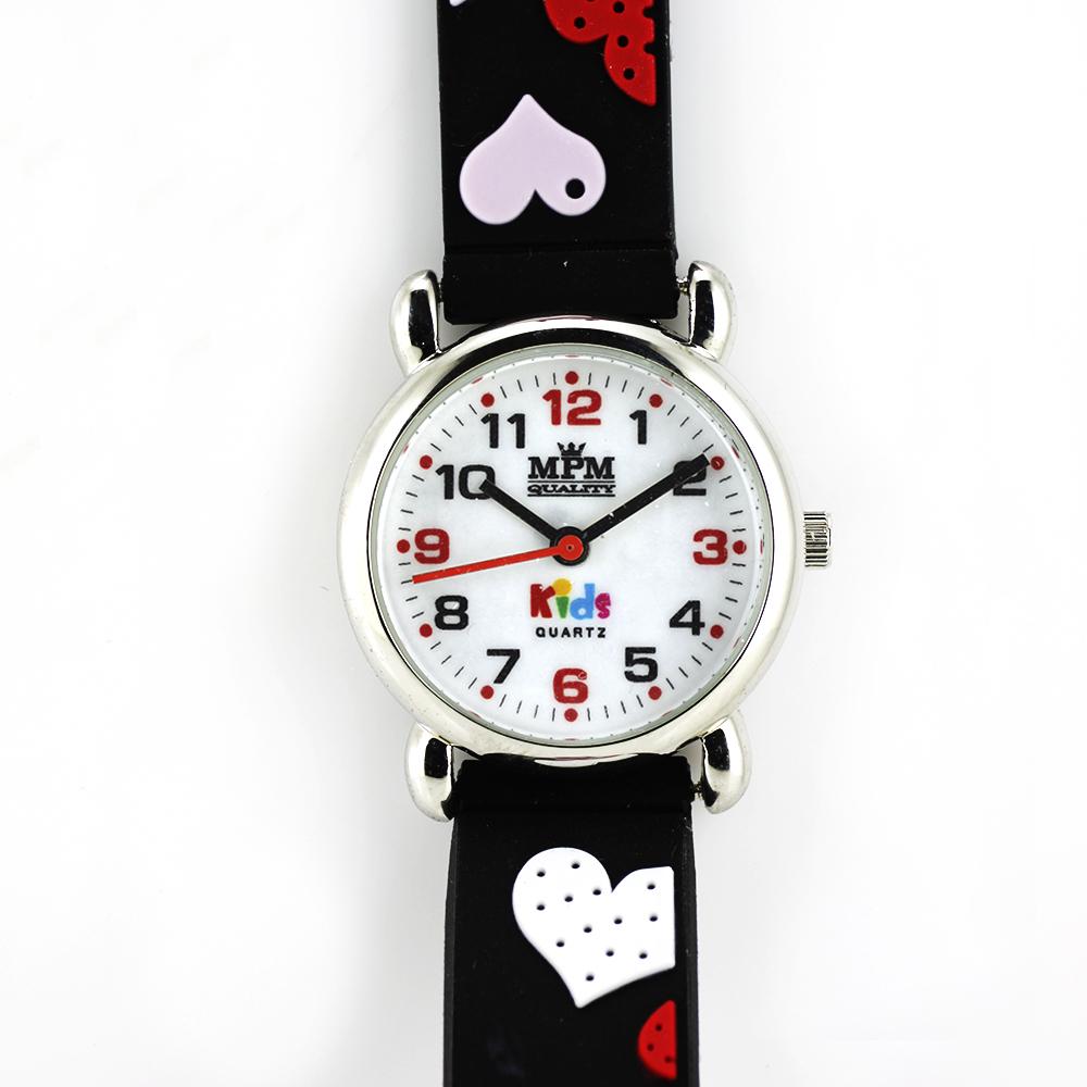 Dětské hodinky pro holky se srdíčky MPM W05M.10271.H (W05M.10271.H )