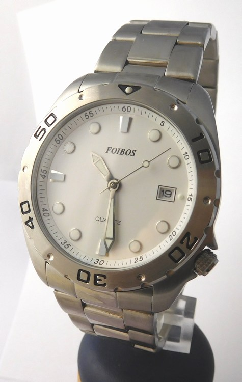 Mohutné pánské vodotěsné potápěčské hodinky Foibos 5452 - 20ATM (POŠTOVNÉ ZDARMA)
