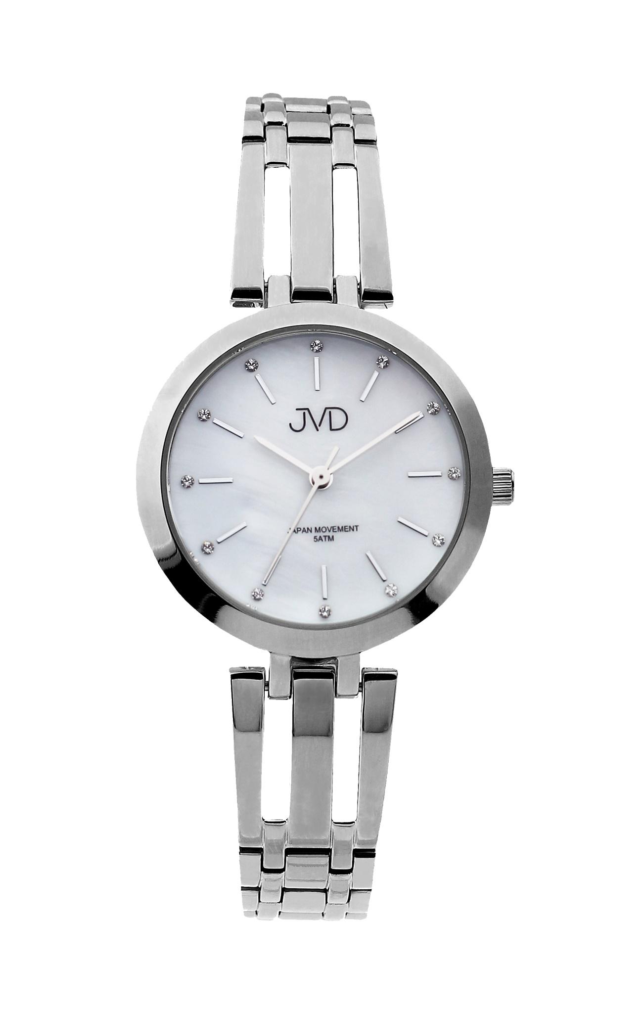 Dámské elegantní ocelové hodinky JVD J4155.1 (POŠTOVNÉ ZDARMA!! - vodotěsnost 5ATM)